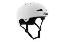 TSG Evolution Solid Color Helmet flat-white